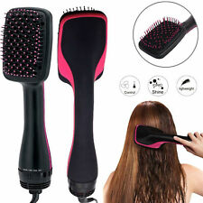 Professional One Step Hair Blower Dryer Styler Salon Smooth Brush Straightener