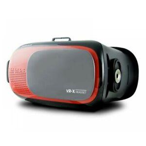 Kaiser Baas VR-X Headset Red 3D Virtual Reality Gaming Glasses Monitor Set