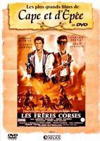 DVD LES FRERES CORSES LES PLUS GRAND FILMS DE CAPE ET D'EPEE N°18 OCCASION