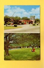 Donna,TX Texas,Don-Wes Motel One acre shaded patio,Al & Myrtle Helmer owners