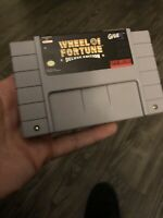 Wheel of Fortune: Deluxe Edition, Game Only, Super Nintendo SNES