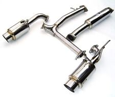 """INVIDIA N1 EXHAUST SYSTEM FOR 2003-2008 NISSAN 350Z 60MM 2.36"""" HS02N3ZGTP"""