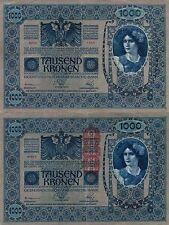 1000 TAUSEND KRONEN BANK AUSTRIA UNGHERIA1902