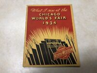What I saw at the 1934 Chicago World's Fair Booklet - Chicago Northwestern Line
