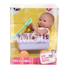 Berenguer Baby Doll Mini Nursery in Pulling Wagon Lots to Love Babies Colourful