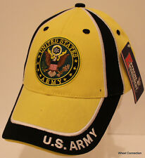 Mens US Army Embroidered Seal Military Hat Quality 100% Cotton Ball Cap 3238bb11a9cd