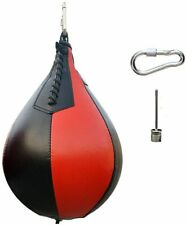 Black with Red Sport Fitness Mma Boxing Punching Speed Training Hanging Swivel H