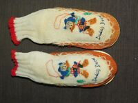 VINTAGE DISNEY DONALD DUCK CHILD SLIPPERS SIZE 6 1/2