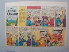 Lone Ranger Sunday Page by Fran Striker and Charles Flanders from 7/13/1941