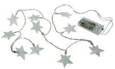Lichterkette Sterne batteriebetrieben Weihnachten DEKO