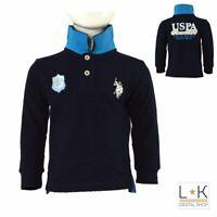 Polo in Caldo Cotone Blu Ragazzo Polo Assn 49785
