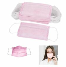 100 pcs Disposable Earloop Anti-Dust Face Masks Medical Dental Nail Health