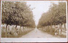 San Juan Hill/Heights, Cuba 1915 AZO Realphoto Postcard: Avenida de la Estacion