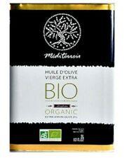 """Huile d'Olive Biologique """"Méditerroir"""" vierge extra 3 Litres"""