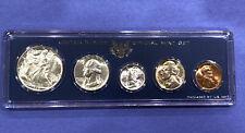 1945-P BU Unc. to Gem Coin Set U.S. Genuine Special Mint Set Government Case!++