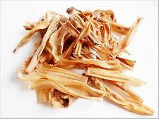 Dried LOW FAT LIGHT Venison Skin - food treats roe deer scalp grain-free chews