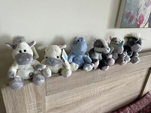 """Collection Of 5 4"""" Inch Blue Nose Friends Complete With Tags"""