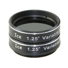 "ICE 1.25"" Variable Polarizing Eyepiece Moon Filter for Telescope Polarizer Vari"