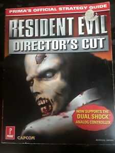 RESIDENT EVIL DIRECTOR'S CUT STRATEGY GUIDE 1997