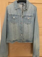 Topshop  RRP £40 soft denim jeans  Jacket 8 10  12 14 16 new with tags