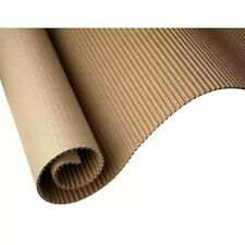 More details for premium quality corrugated cardboard packaging parcel roll 60cm (600mm x 10m)
