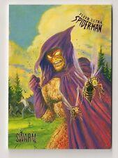 2017 FLEER ULTRA SPIDER-MAN BASE CARD #95 SWARM