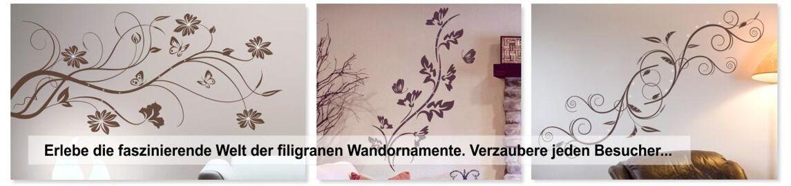 Wandtattoos Wandbilder Wandtattoo Wandbanner Blumen Ranke Wandaufkleber Wohnzimmer Schlafzimmer Ban15 Pgm Com Pe
