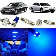 12x Blue LED lights interior package kit for 2006-2013 Chevy Impala CI3B