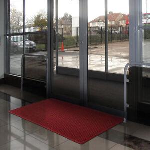 Notrax Heavy Duty Barrier Entrance Mat Slip Resistant Ultra Absorbent Dirt Trap
