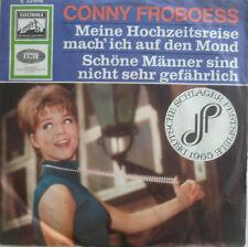 """7"""" 1965 VG++ ! CONNY FROBOESS : Meine Hochzeitsreise mach ich auf den Mond"""