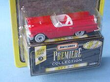 Matchbox USA Premiere 1957 Thunderbird Red Body Toy Model Car 75mm