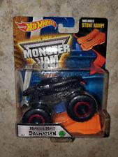 Hot Wheels Monster Jam Monster Mutt Dalmatian Black with Stunt Ramp