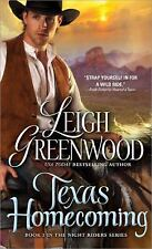 Texas Homecoming - Leigh Greenwood (Paperback)