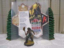 Heroscape Custom Edra'Dren Double Sided Card & Figure w/ Sleeve Valkrill