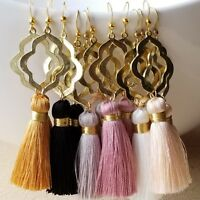 Handmade Tassel Earring Earrings Boho Fringe Fashion Women USA Free Shipping