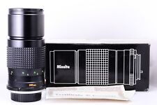 Minolta 200mm f4,5 MC Tele Rokkor in Mint Conditions With Original Packaging