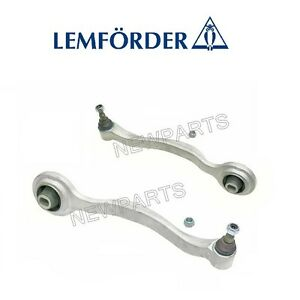 For Mercedes Set of 2 Front Lower Forward Control Arms Lemforder 3123501 3123601
