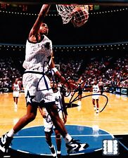 ANFERNEE PENNY HARDAWAY ORLANDO MAGIC HAND SIGNED AUTOGRAPHED NBA PHOTO! W/ COA