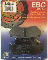 EBC Organic REAR Disc Brake Pads Fits HONDA GL1200 GOLD WING (1984 to 1988)