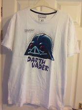 Para Hombre Angry Birds (darth Vader) camiseta tamaño XL
