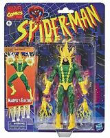 Spider-Man Retro Marvel Legends Electro 6-Inch Action Figure
