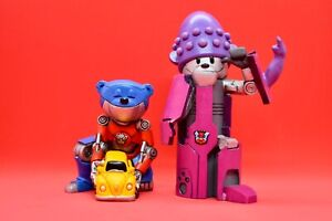 Bad Taste Bears - Hot Rod & Orgazmatron - Collectible BTB Figurines Transformers