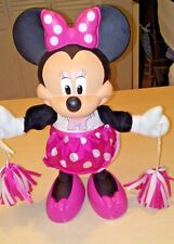Minnie Mouse by Mattel Disney Cheerleader & Pom Poms Working Sounds & Movements