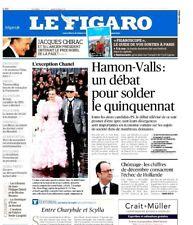 Le Figaro 25.01.2017 N°22538*GAUCHE-SOLDE*Roman POLANSKI*CHIRAC-NOBEL*LAGERFELD