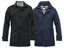 Brave Soul Polyester Collared Long Coats & Jackets for Men