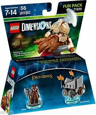 Lego Dimensions 71220 Fun Pack - The Lord of the Rings Gimli. Brand New.