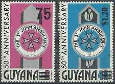 Timbres Guyana 930/1 ** lot 20856