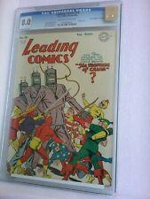 LEADING COMICS #13 CGC 8.0 D Copy Robot Cover(7 Higher on cgc census) Good Price