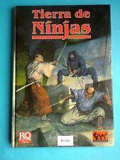 *Rol - Runequest - Tierra de Ninjas - Joc Internacional RL44