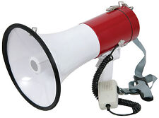 Adastra Megaphone Powerful Loud Speaker with Siren - Handheld - Shoulder Strap